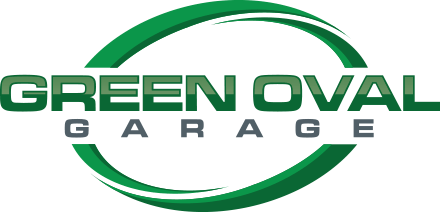 Green Oval Garage